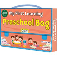 Pre-School Activity Early Learning Exciting 10 Different Books, Early Learning Books For Kids With Bag