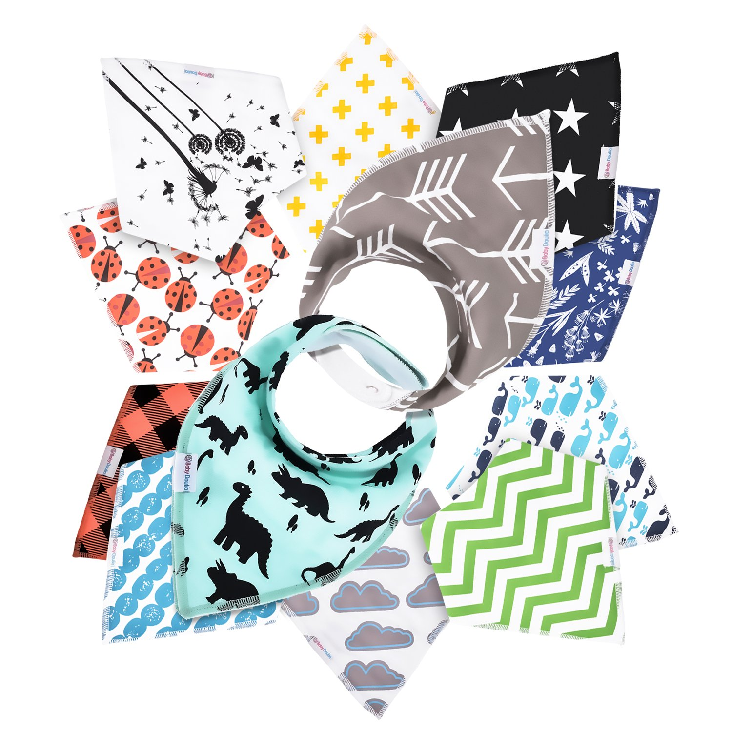 Baby Boys Bibs and Burp Cloths