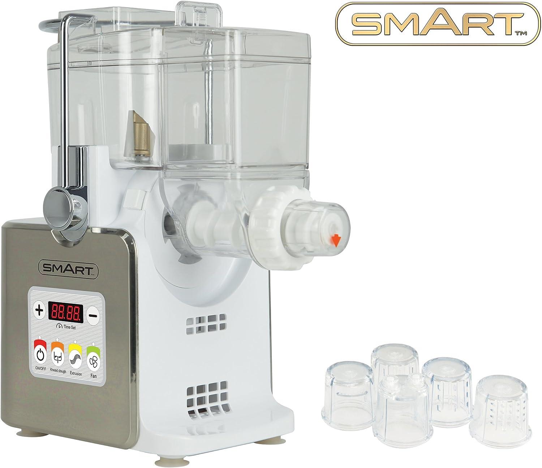 Máquina para hacer pasta Smart SPM3000 totalmente automática con minirrallador incluido. Para elaborar tu propia y deliciosa pasta fresca casera, como ...