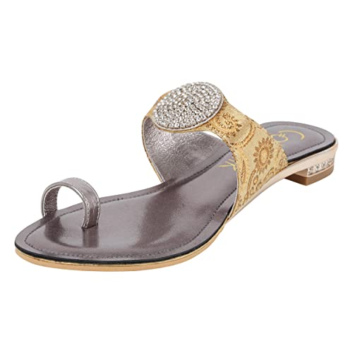 82ecae99eb0a5 Catwalk Silver Slip-on Sandals  Buy Online at Low Prices in India -  Amazon.in