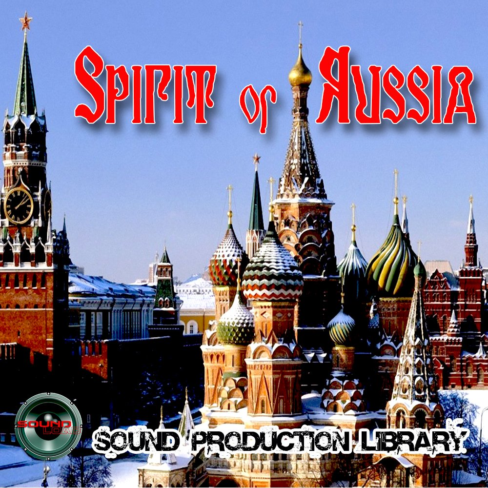 RUSSIA Spirit - HUGE UNIQUE original Multi-Layer Studio WAV Samples Library 2DVD or for download by SoundLoad (Image #1)