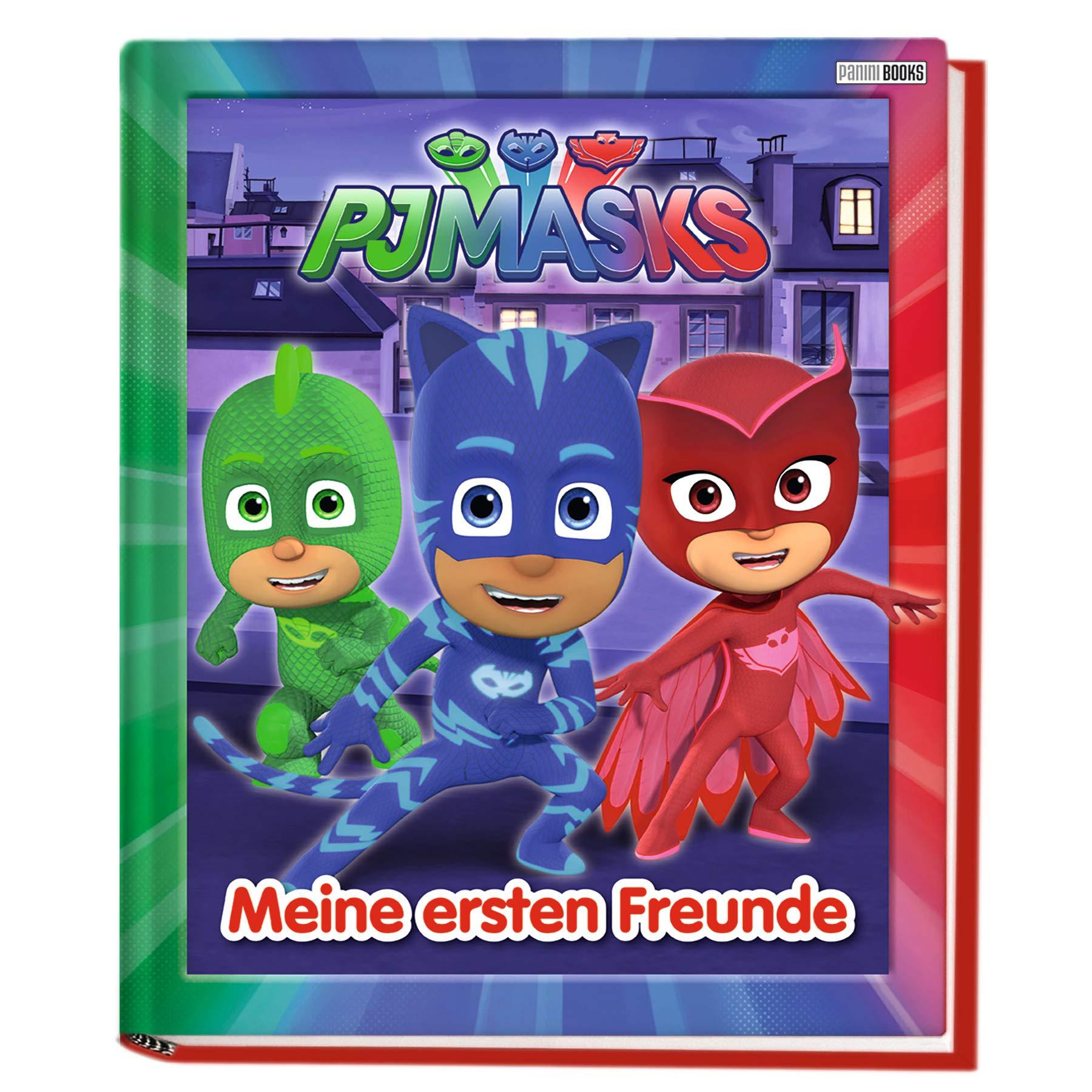 PJ Masks: Meine ersten Freunde: Kindergartenfreundebuch Gebundenes Buch – 22. Oktober 2018 Panini 3833236841 Ab 24 Monaten Geschenkband