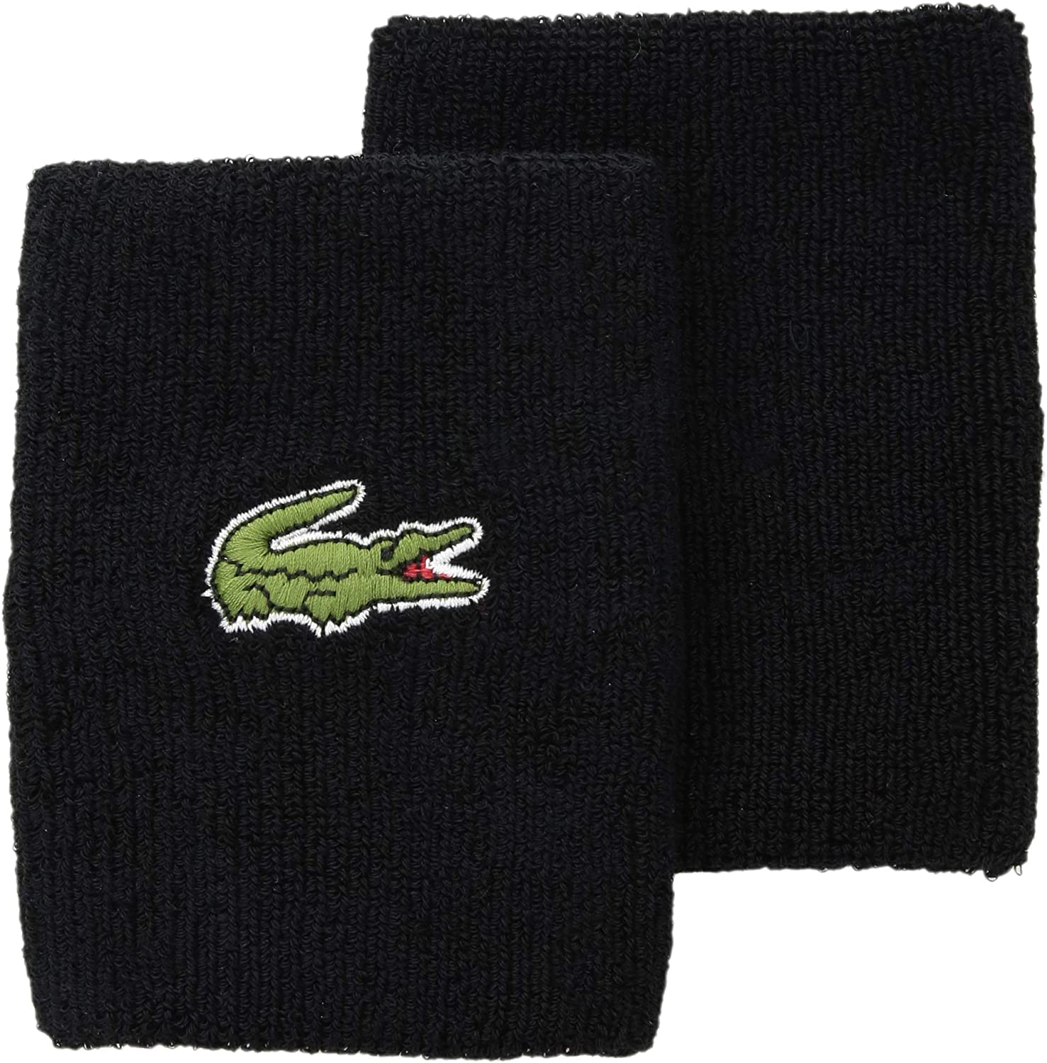Lacoste Mens Sport Training Colorblock Wristband with Croc