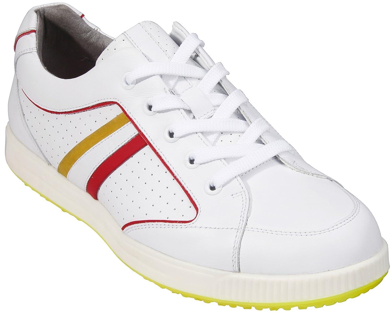 サウスポートメンズゴルフシューズスパイクsx8761 (ホワイト, 7.5 )   B014J00WHW