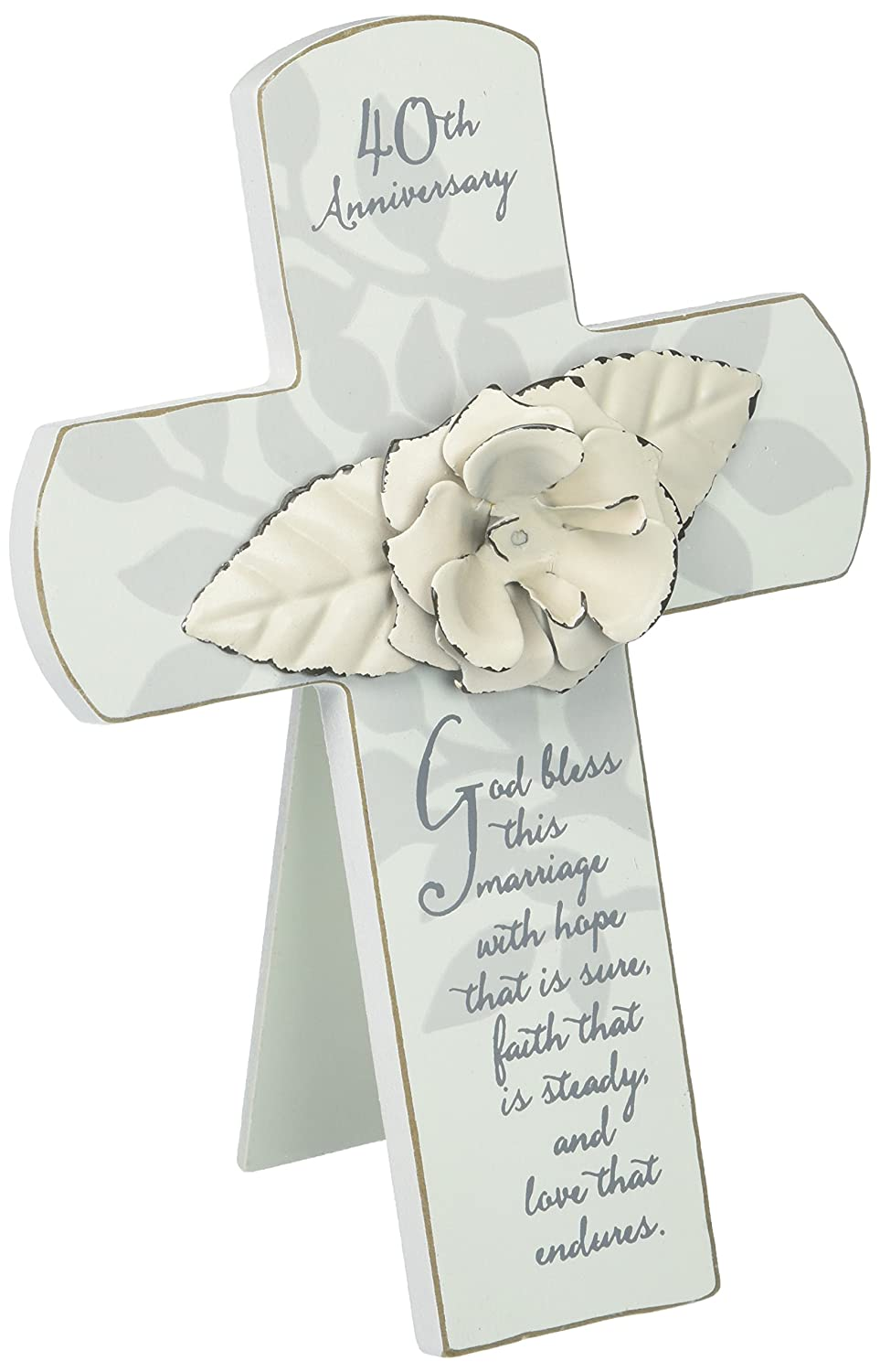 Gregg Gift 4057355 40Th Anniversary Cross Enesco Canada