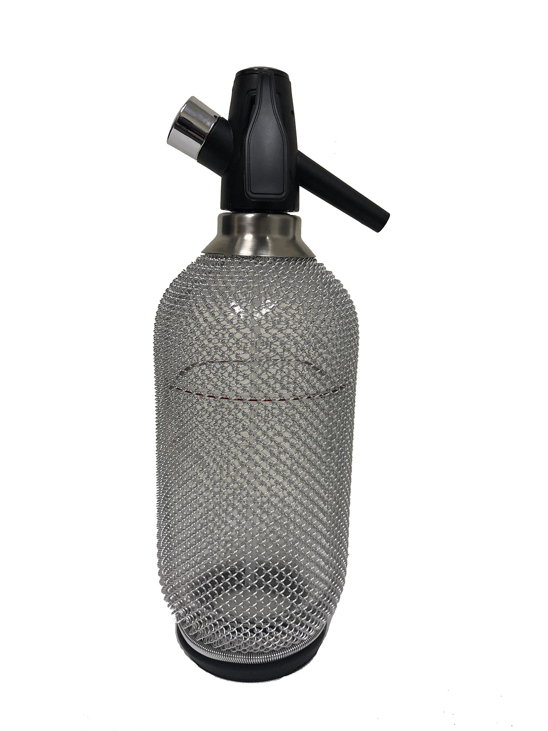 Lovin Silver Glass Mesh Soda Siphon - NEW 2018