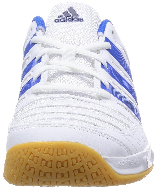 best loved 06fdc 8686e adidas Performance - Zapatillas de Balonmano para Hombre Blanco Azul  adidas   Amazon.es  Zapatos y complementos