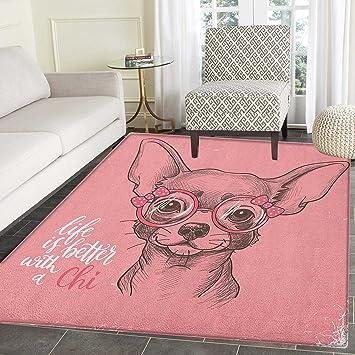 Tapis Pour Chien Chihuahua Motif Chihuahua Avec Citation De