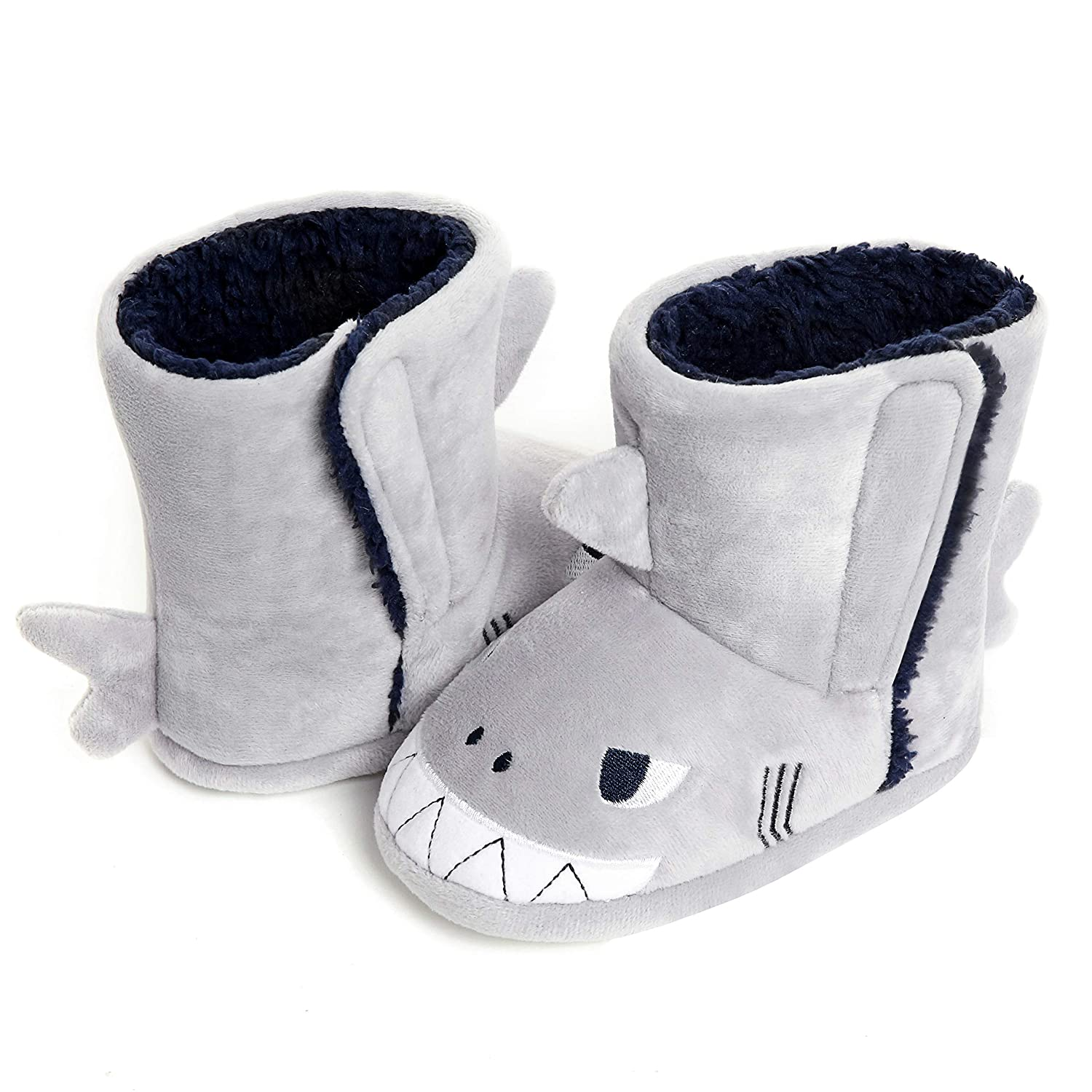 Toddlers Girls Slippers Booties Plush Cute Animal Indoor Winter House Slippers