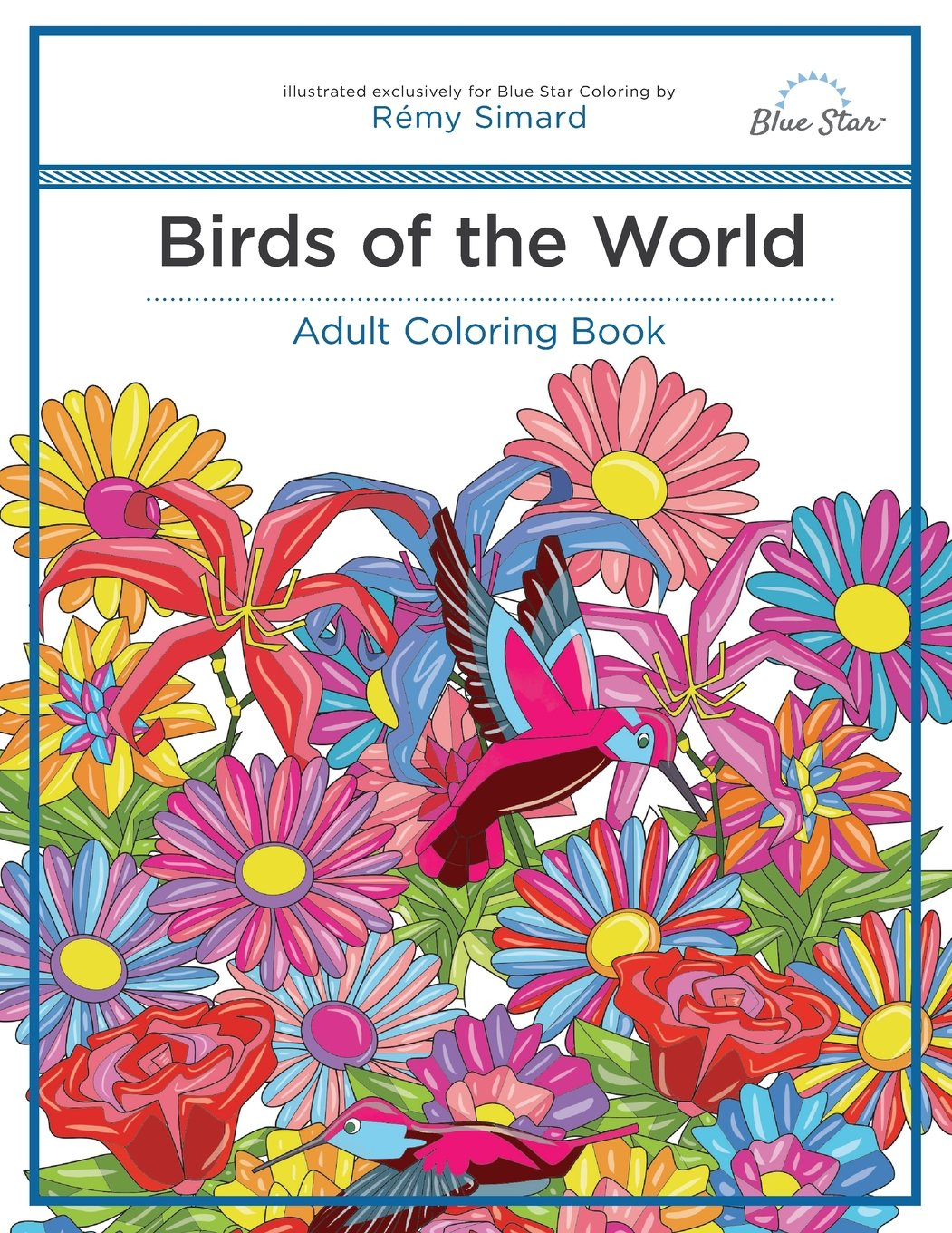 Adult Coloring Book Birds World product image