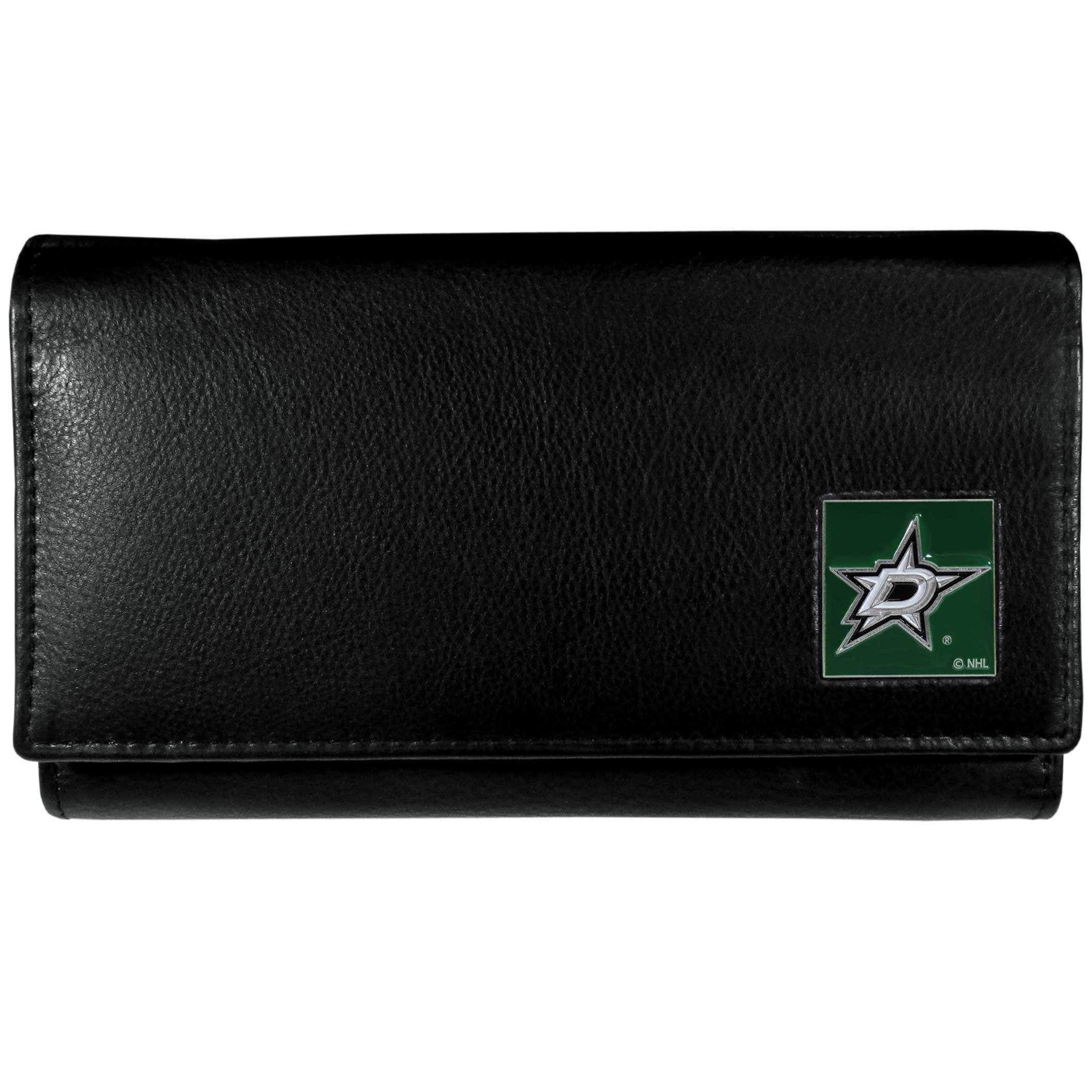 NHL Dallas Stars Genuine Leather Women's Wallet
