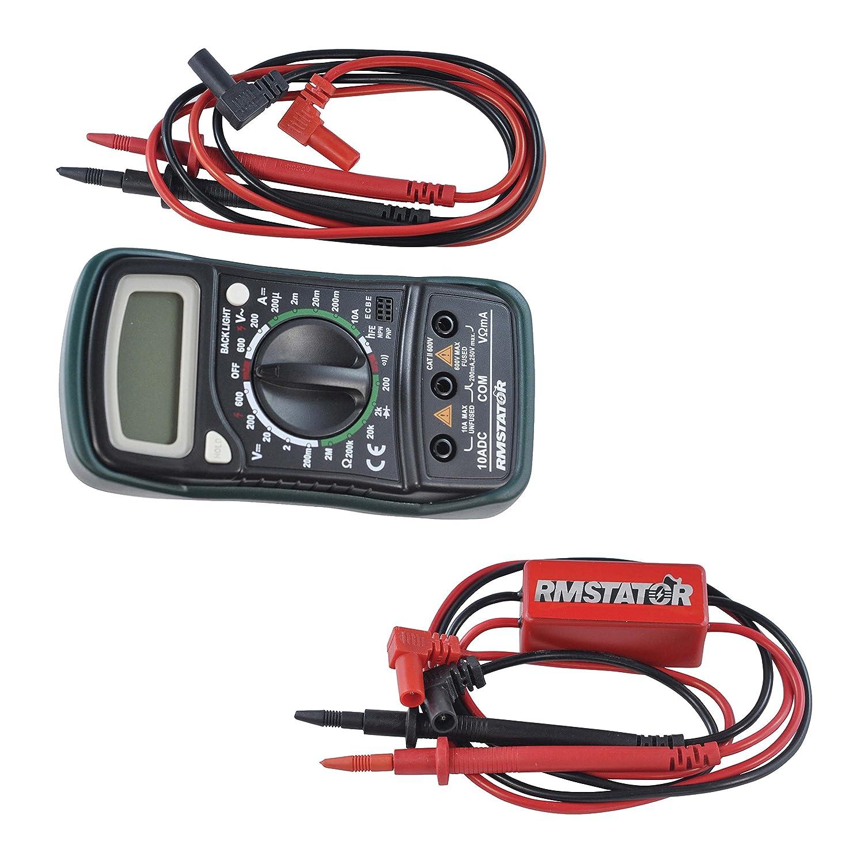 Kit Digital Multimeter + Voltage Peak Reading DVA Adapter RMSTATOR