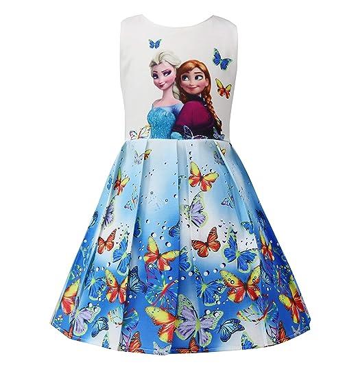 fa68e85fcd Crazy Gotend Toddler Girls Sleeveless Princess Dress Casual Party  Dresses(18M-7Y)
