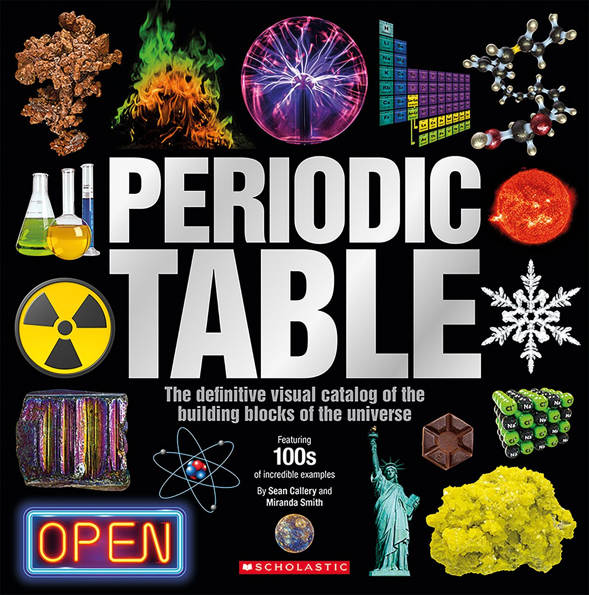 The periodic table sean callery miranda smith 9781338185034 the periodic table sean callery miranda smith 9781338185034 amazon books urtaz Image collections