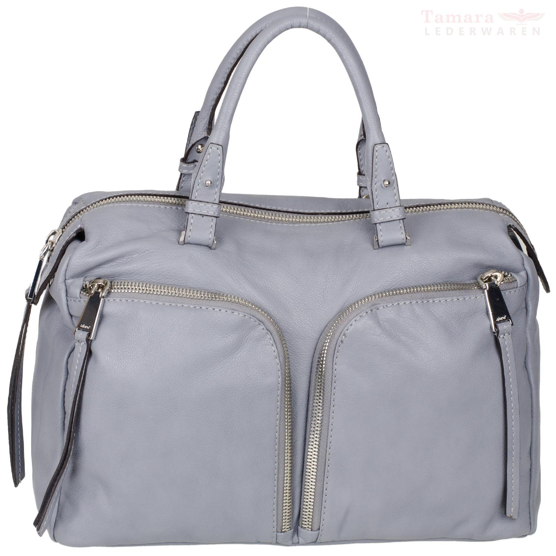 Abro + Sondrio Nappa Leather Handle/37x25x16,5?cm Grey 026228?46?Women's