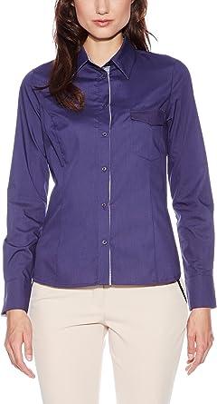 Nife Camisa Mujer Azul Oscuro M (EU 38)