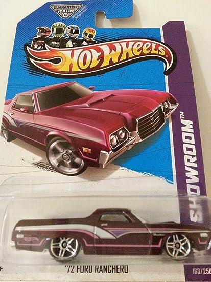 Hot Wheels HW Showroom 72 Ford Ranchero Dark Maroon #163//250 Mattel