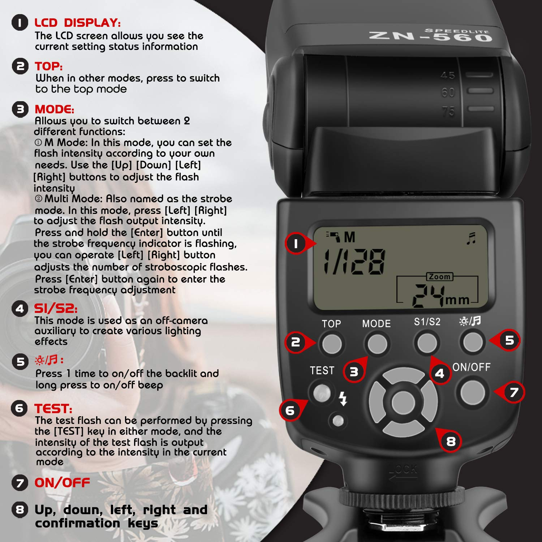 Neck Shoulder Strap for Nikon Camera D300s D200 D3000 D3100 D3200 D3300 D3400