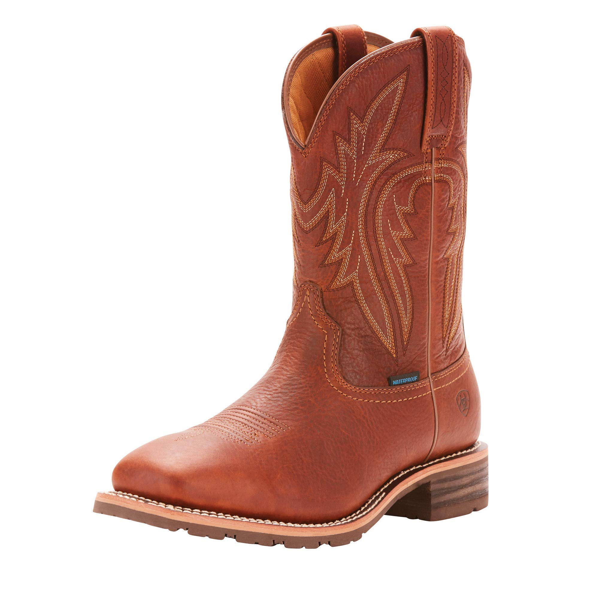 Ariat Men's Hybrid Rancher H2O 400G Western Boot, Sunshine, 9 2E US by ARIAT