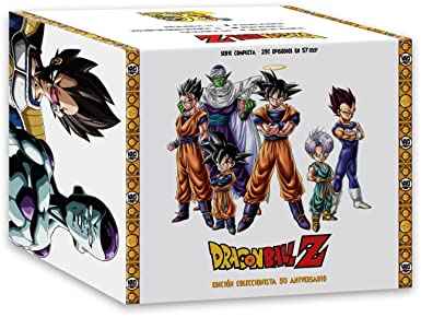 Dragon Ball Z Serie Completa Edición Coleccionista 30º Aniversario ...
