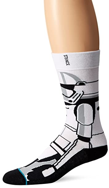 Stance Men/'s Trooper 2 Star Wars Collection Crew Casual Socks