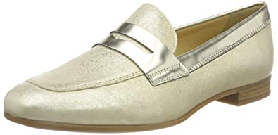 Geox Women s D MARLYNA B Loafers, (Gold C2005), 2.5 UK 2.5 UK 5209c03c77ea