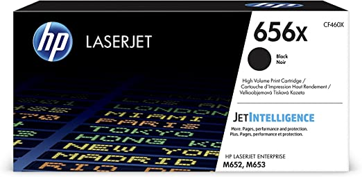 M653DH Black M653XHigh Yield M652N M653DN 656X Guaranteed Toner /& Ink Compatible Toner Replacement for HP CF460X Fits in The Following Machines: Color Laserjet Enterprise M652DN