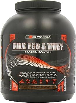 Vyomax Nutrición proteína de suero de leche para huevos y 2,5 kg polvo el crecimiento muscular Suplemento