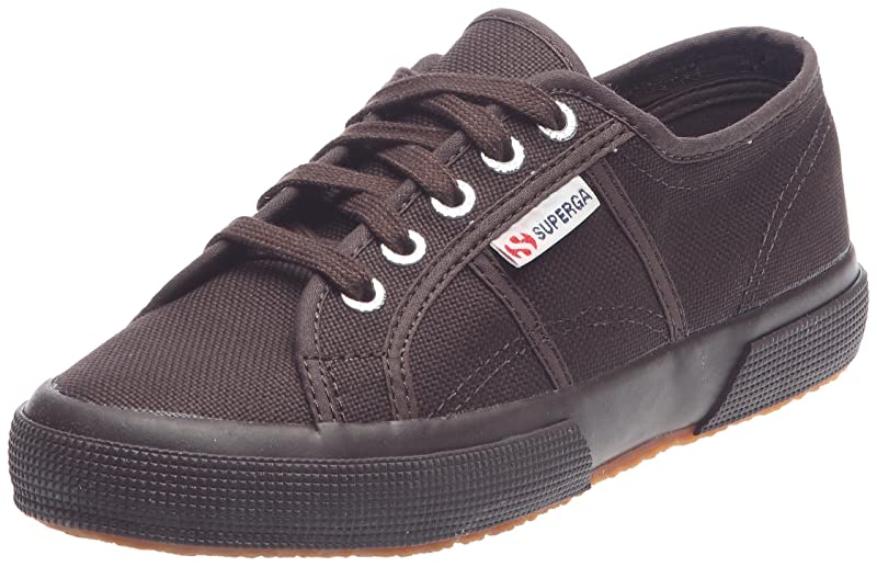 Superga 2750 Cotu Classic Sneakers Low-Top Unisex Damen Herren Dunkelbraun (Choco)