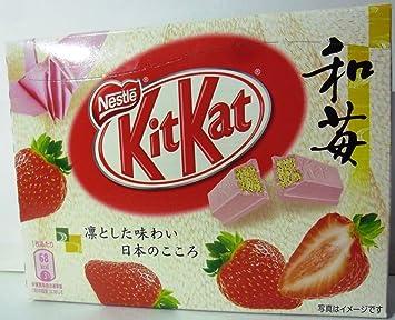 Amazon nestle kitkat strawberry wa ichigo candy and nestle kitkat strawberry wa ichigo voltagebd Gallery