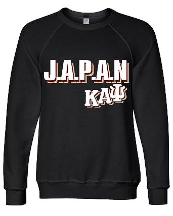 f377d813bdf7ef KAPPA ALPHA PSI JAPAN CREWNECK (Small, Black)
