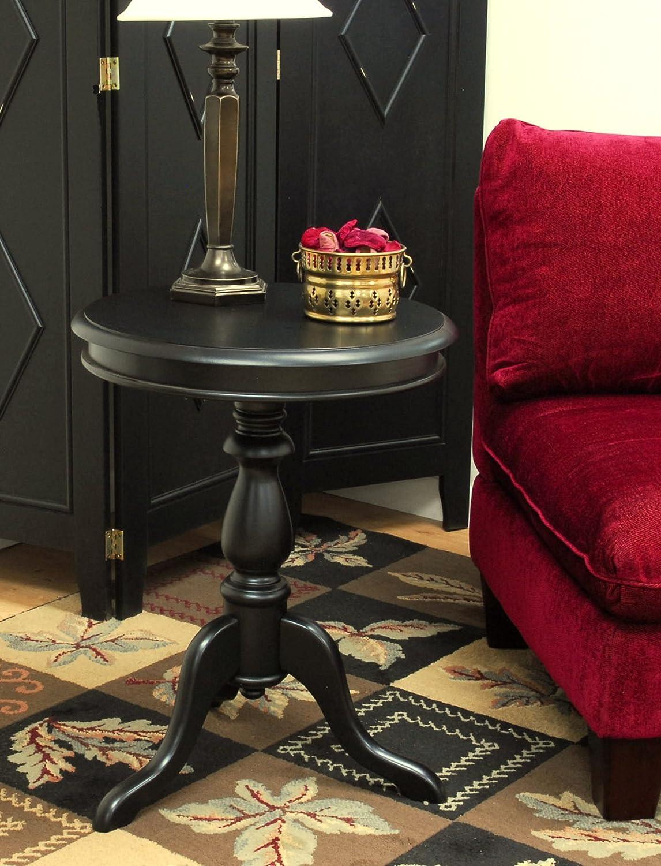Superior Amazon.com: Carolina Cottage Gilda Side Table, Antique Black: Kitchen U0026  Dining