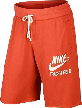 ecuador Barón código postal  Nike RU Men's Shorts Track and Field Alum orange Size:L: Amazon.co.uk:  Clothing