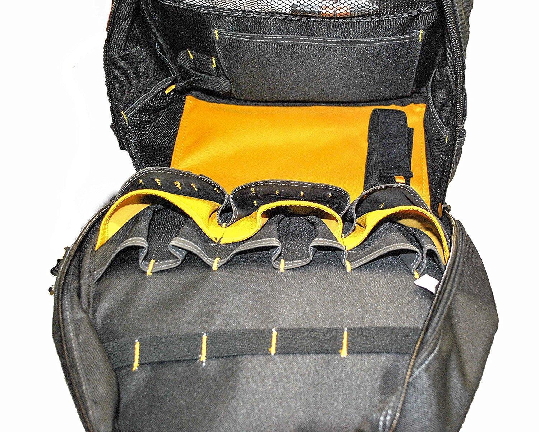 DEWALT DGL523 Lighted Tool Backpack Bag, 57-Pockets by DEWALT (Image #5)