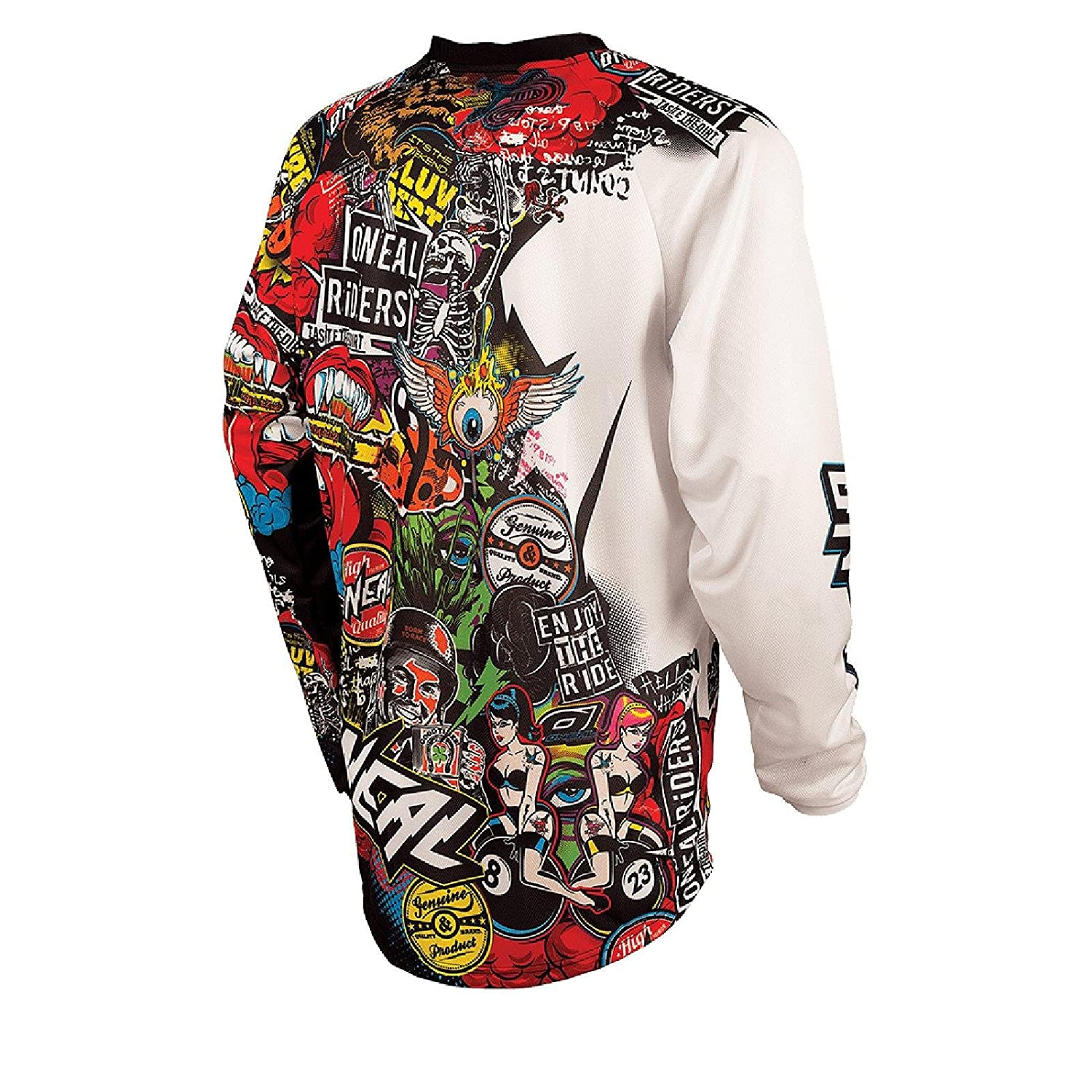 Maillot Manches Longues Homme Oneal Mayhem Lite Multicolore 2019 Tee Shirt Manches Longues Homme