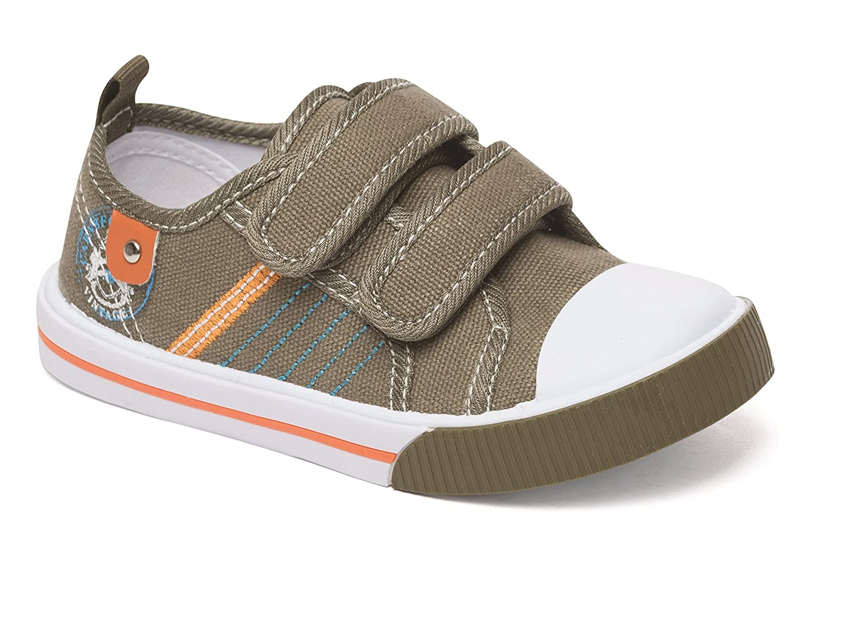 Girls Canvas Trainers Pumps Plimsoll Summer Size 4 5 6 7 8 9 10 11 12 UK Infants