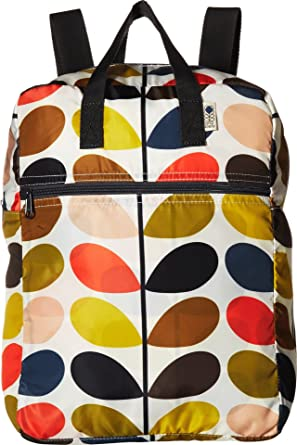8ed4256b63 Orla Kiely Womens Multi Stem Packaway Backpack Backpack Multicolour (Multi)