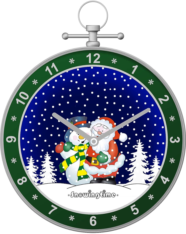 最適な価格 Syunko クリスマス 女の子 スノーグローブ スノーボール ウォールクロック スノータイマー スノーランタン ベッドルーム 友人 リビングルーム B07K18CNMZ 屋内 屋外 ホームデコレーション 女の子 男の子 家族 友人 (グリーン) B07K18CNMZ, ヤマグチシ:71419c6b --- arianechie.dominiotemporario.com