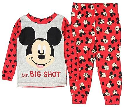 d3faf1782 Disney Baby Boys' Mickey Mouse 2 Piece Long Sleeve Pajama Sleepwear Set (9  Months