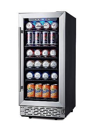 Phiestina refrigerador de bebidas de 15 pulgadas - 96 latas ...