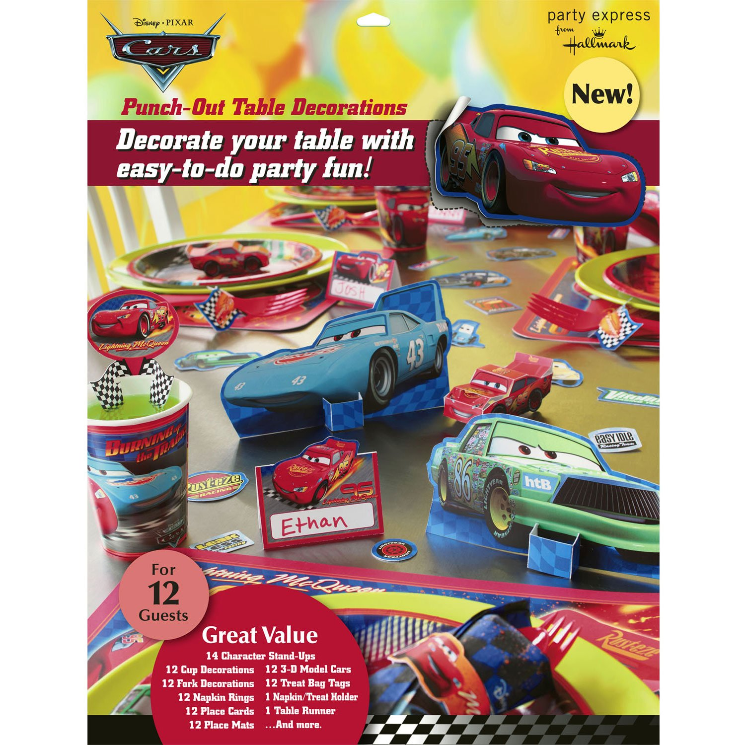 Cars Table Decorations Amazoncom Disney Cars Table Decorations Toys Games