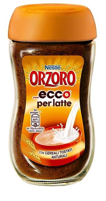 21 opinioni per Nestlé Orzoro Ecco Orzo e Cereali Solubili per Latte- 6 pezzi da 75 g [450 g]