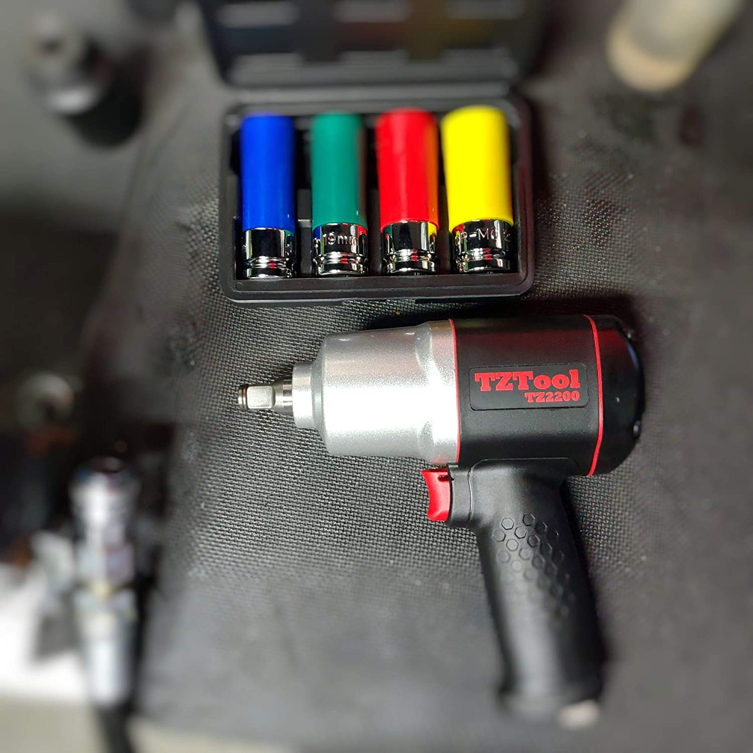 Ultimate torque TZTOOL All New 2200K 1//2 impact wrench