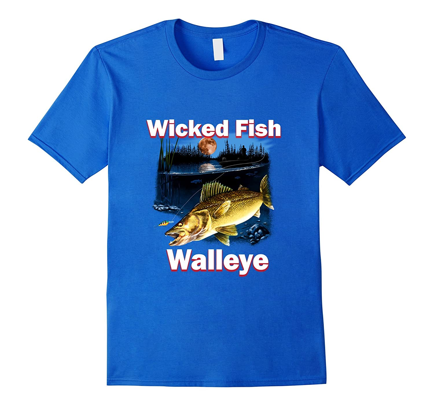 Fishing Tee Shirt Wicked Fish Walleye T Shirt Fishing Gift Vaci Vaciuk