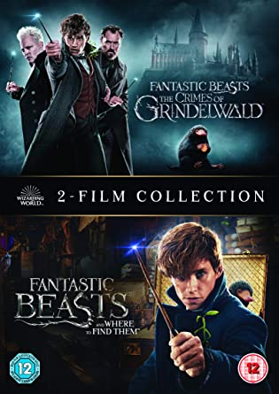 Fantastic Beasts 2 Film Collection Dvd 2018 Amazonco