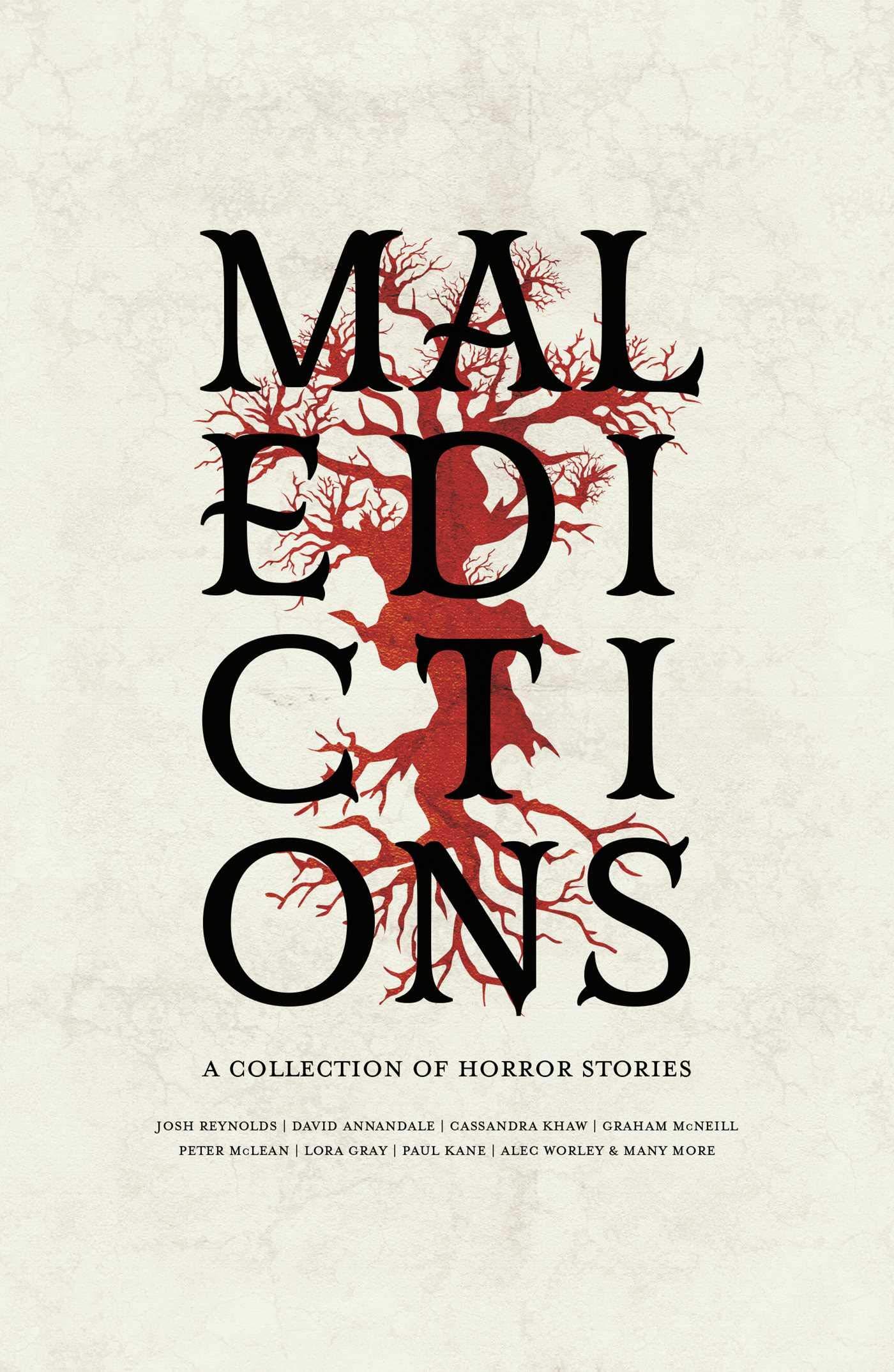 Malédictions, recueil de nouvelles horreur Warhammer