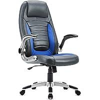 IntimaTe WM Heart Gaming Chaise, Chaise de Bureau Dossier Haut PU, Conception Ergonomique, Accoudoir Adjustable, Chaise de Bureau d'Ordinateur Pivotant
