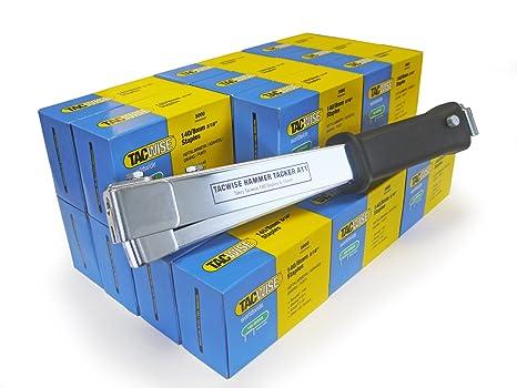 Amazon.com: Tacwise 1179 – Grapadora de martillo Plus 140/8 ...