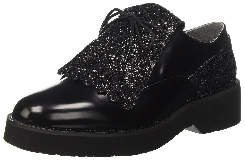 CafèNoir LEC945 Chaussures à CafèNoir Lacets Lacets Femme LEC945 Noir dfe51ba - fast-weightloss-diet.space