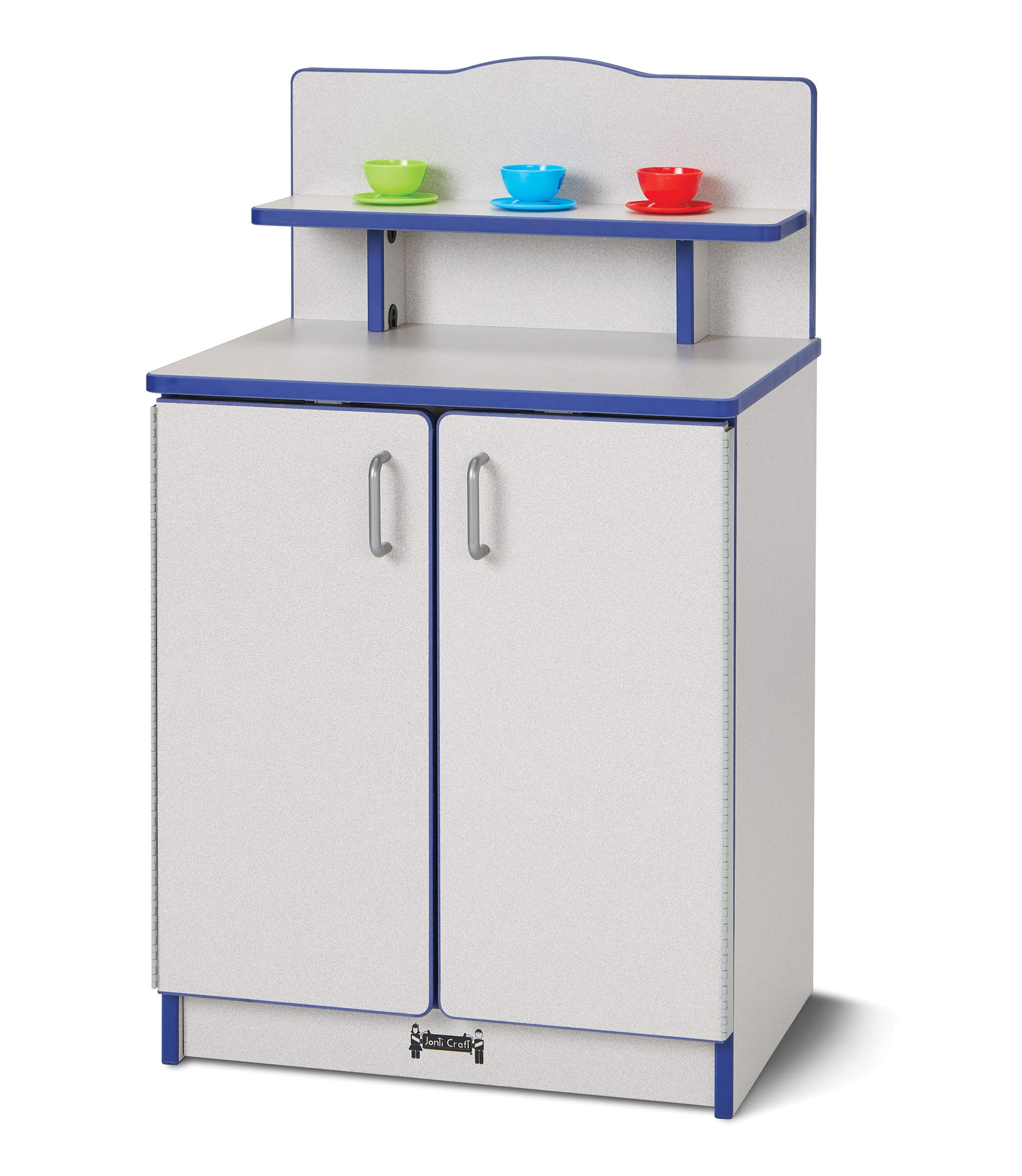 Rainbow Accents 2407JCWW008 Culinary Creations Kitchen Cupboard - Red